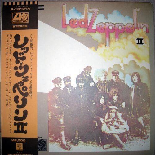 led zeppelin 2 album
