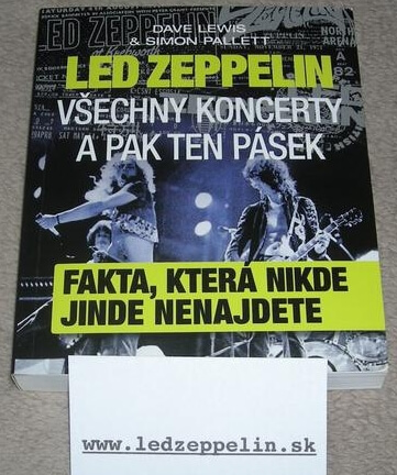 led zeppelin všechny koncerty a pak ten pásek